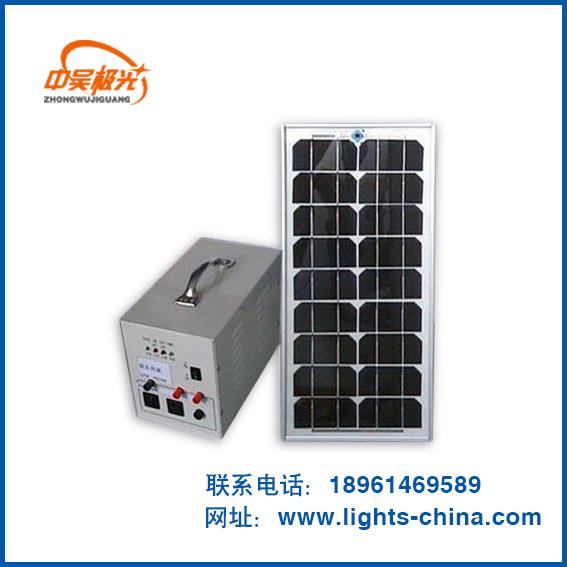 太阳能应急发电