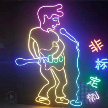 LED柔性造型发光字灯带