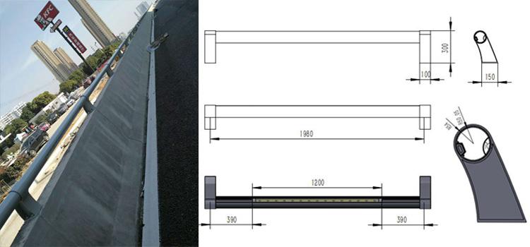 LED防撞护栏灯